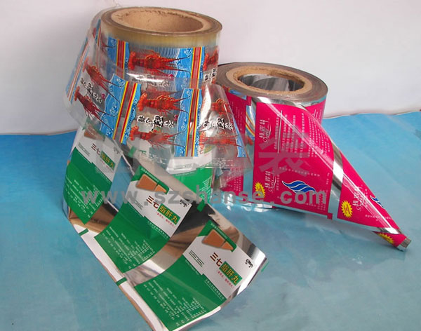 Plastic packing film for automatic packaging machine
